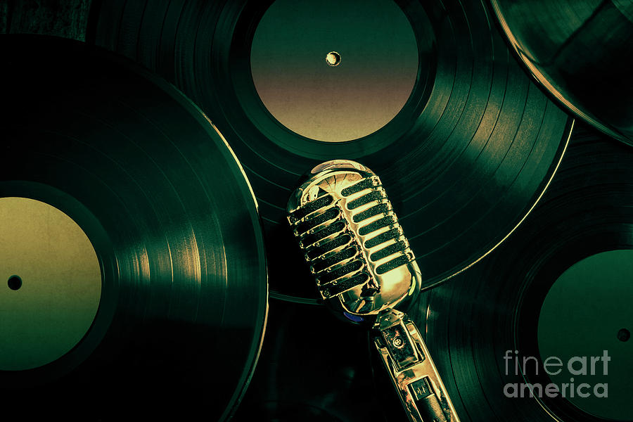 Music Photograph - Recording Studio Art by Jorgo Photography - Wall Art Gallery