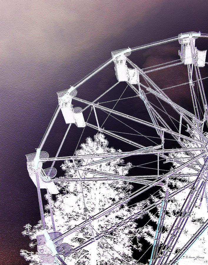 Ferris-wheel Photograph - Recurring Dreams by Susan Kinney