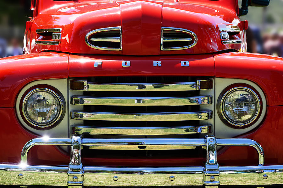 Red Ford F At The Golden State Classic Car Show In Paso - Paso robles car show