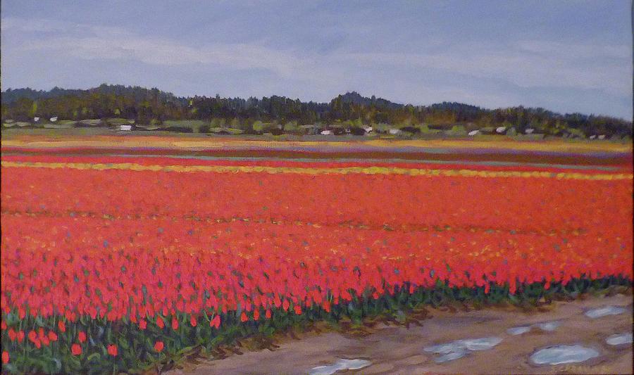 Red and Orange Tulips by Stan Chraminski