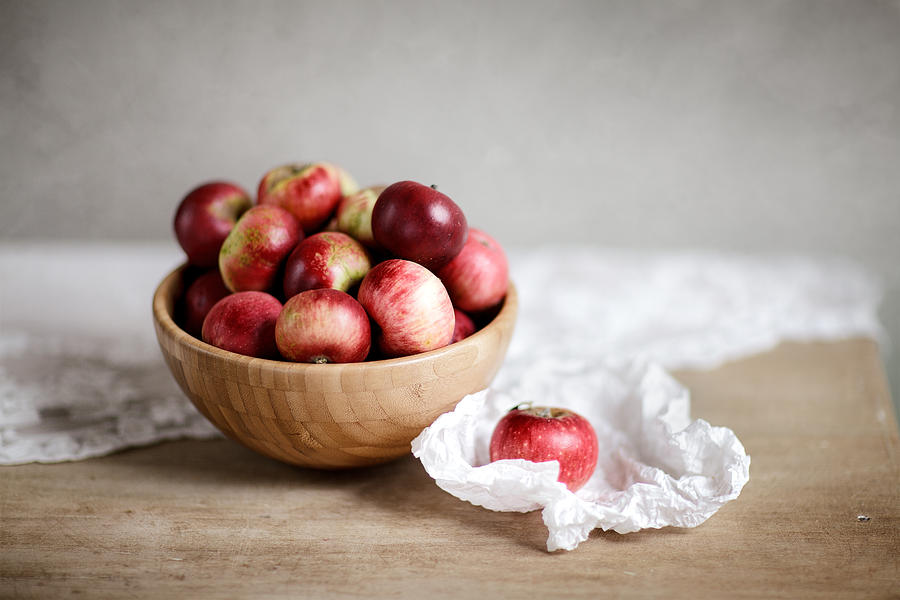 Red Apples Still Life Photograph