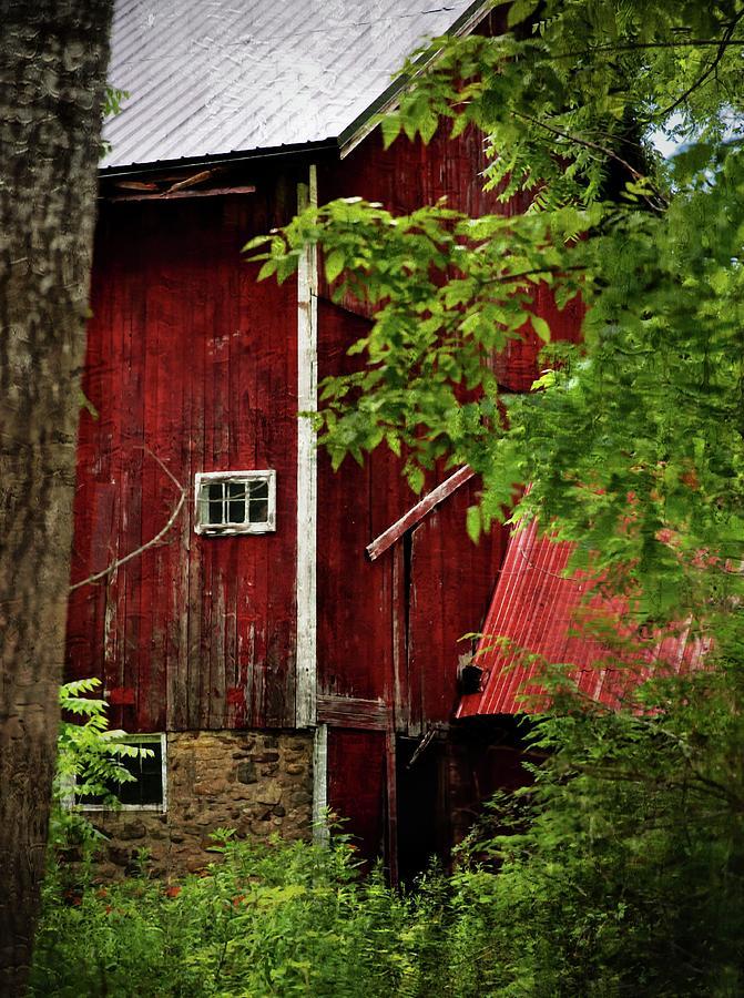 Red Barn 1 Photograph by Scott Fracasso