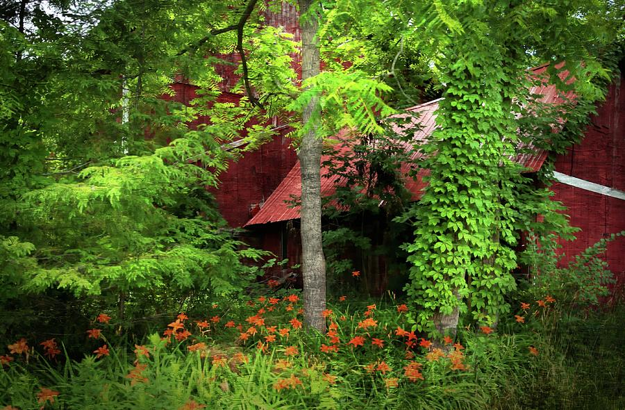 Red Barn 2 Photograph by Scott Fracasso