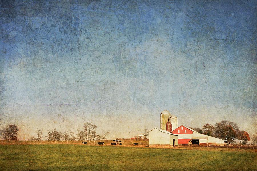 Barn Photograph - Red Barn by Guy Crittenden