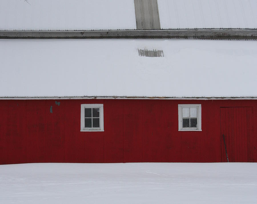 Barn Photograph - Red Barn  by Julie Lueders