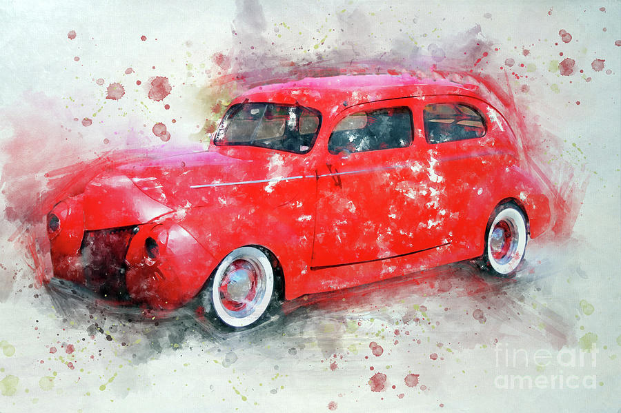 Red Beauty by Teresa Zieba