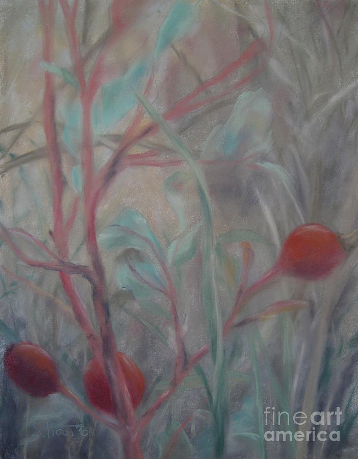 Berry Painting - Red Berries I by Sabina Haas