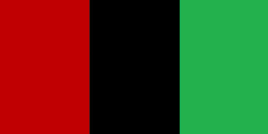 Red Black and Green by Adenike AmenRa