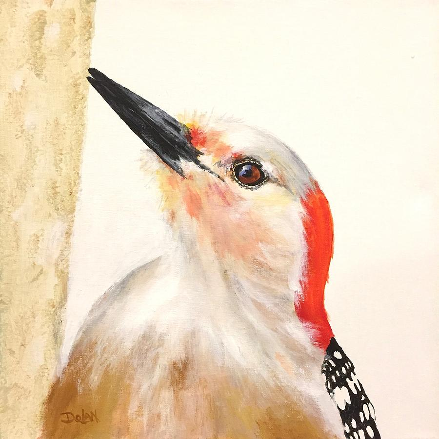 Red Breasted Woodpecker by Pat Dolan