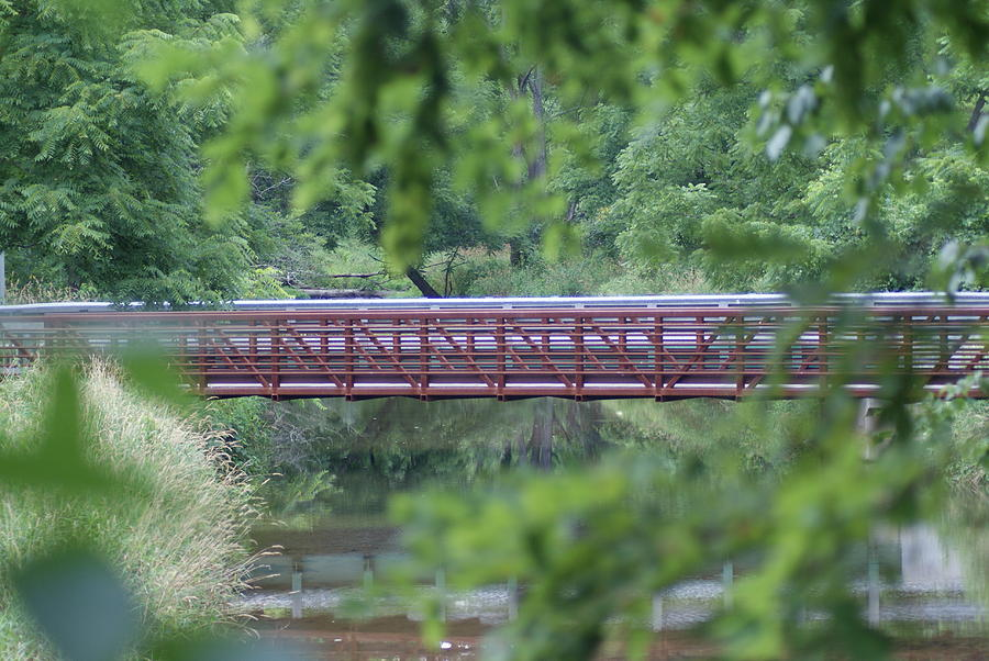 Bridge Photograph - Red Bridge by Heather Green