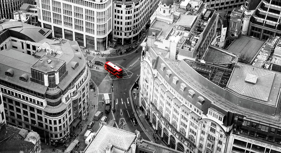 Red Bus of London by John Williams