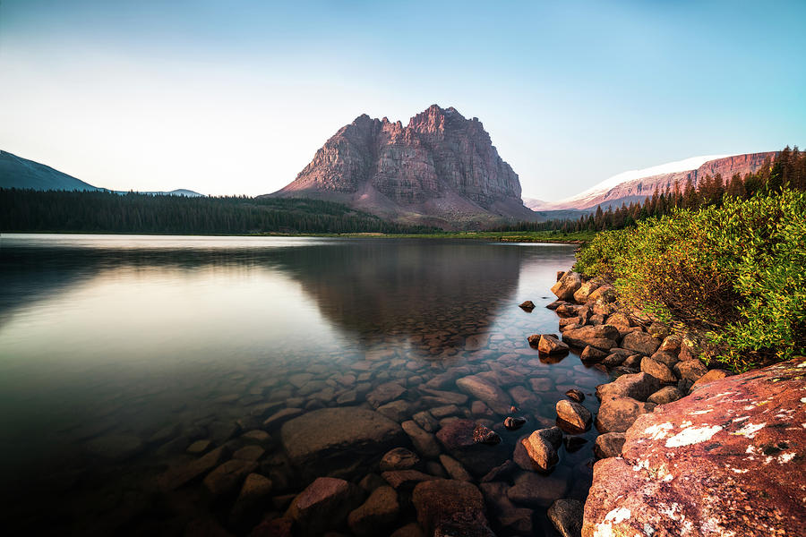 Red Castle Mountain Utah Photograph