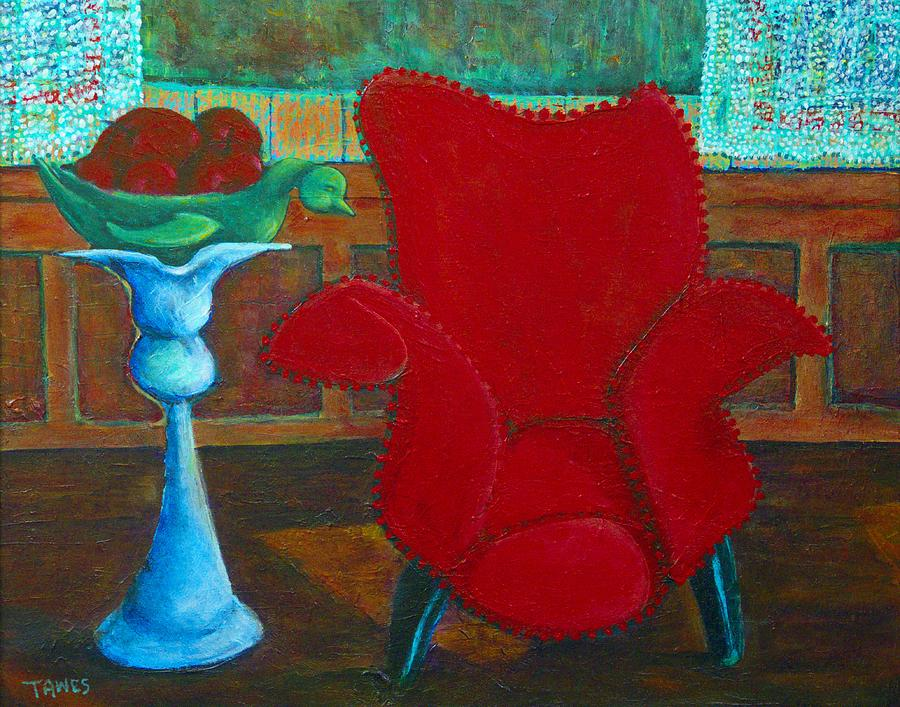 Red Chair by Dennis Tawes
