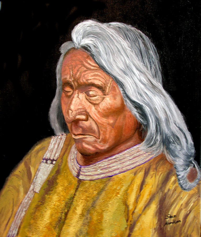 Red Cloud Painting - Red Cloud by Stan Hamilton