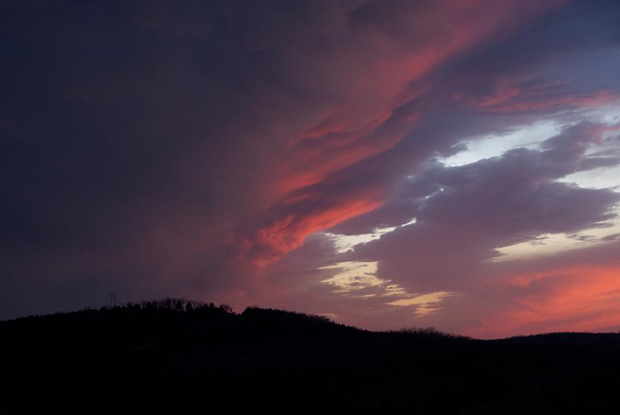 Red Clouds Photograph - Red Clouds 2 by Toni Berry