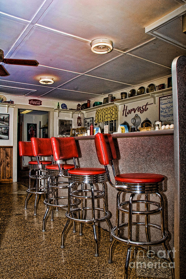 Resturant Photograph - Red Cottage Restaurant by Edward Sobuta