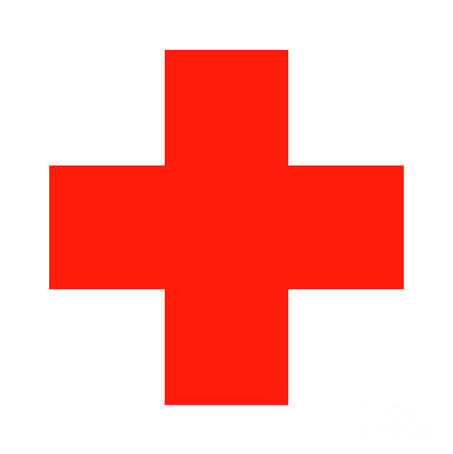 Red Cross Digital Art - Red Cross 2 by Prar Kulasekara