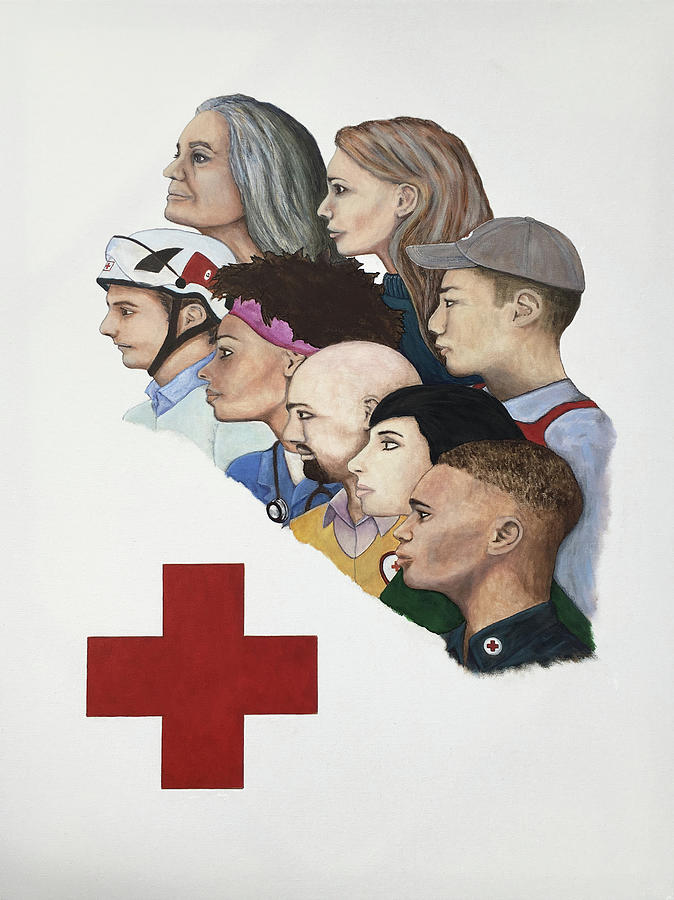 Red Cross Poster Entry by Mr Dill