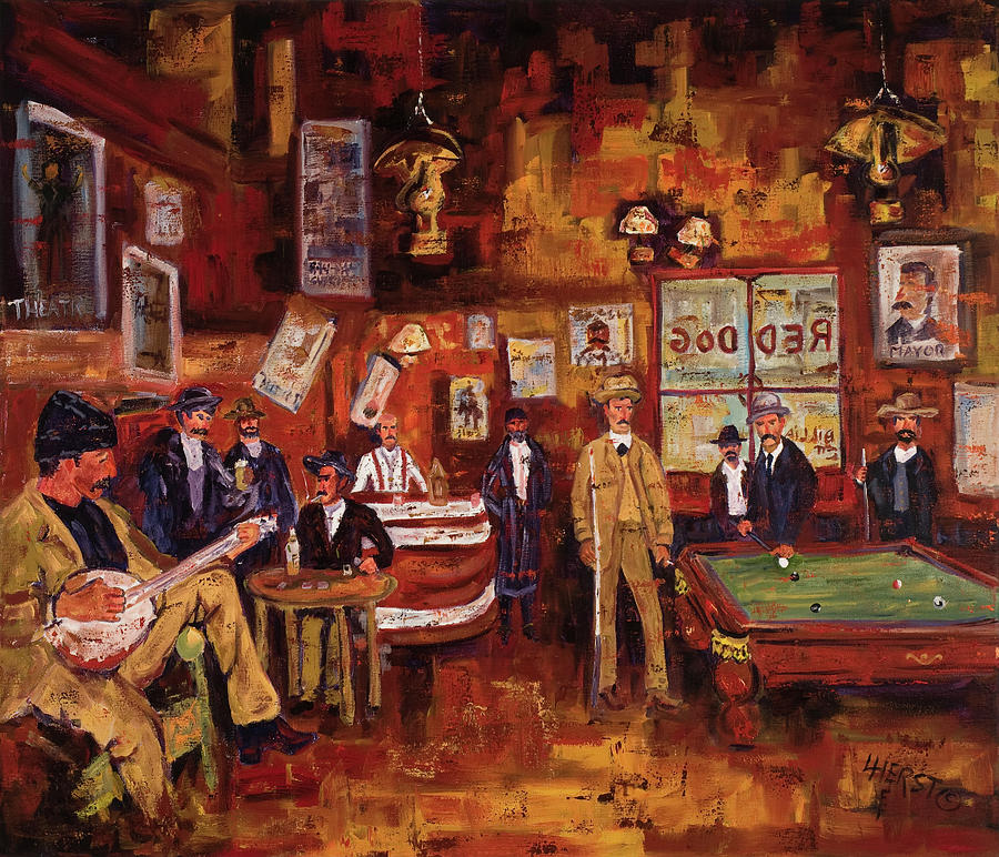 Red Dog Billiards by LC Herst