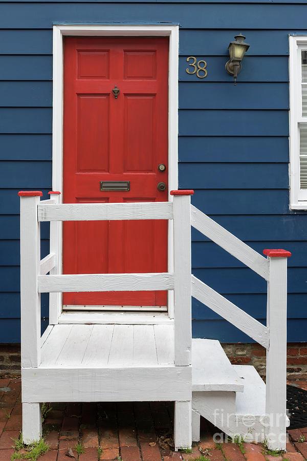 Red Door No 38 Photograph