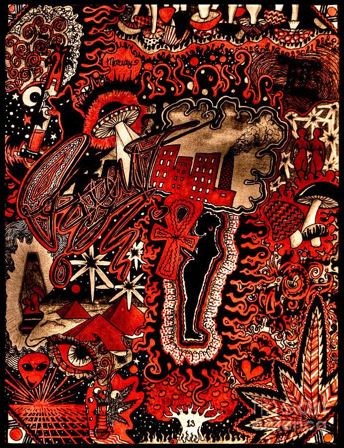 Red Existence by Baruska A Michalcikova