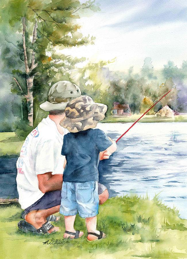 Днем рождения, открытки рыбаки папа рисует с единорогами