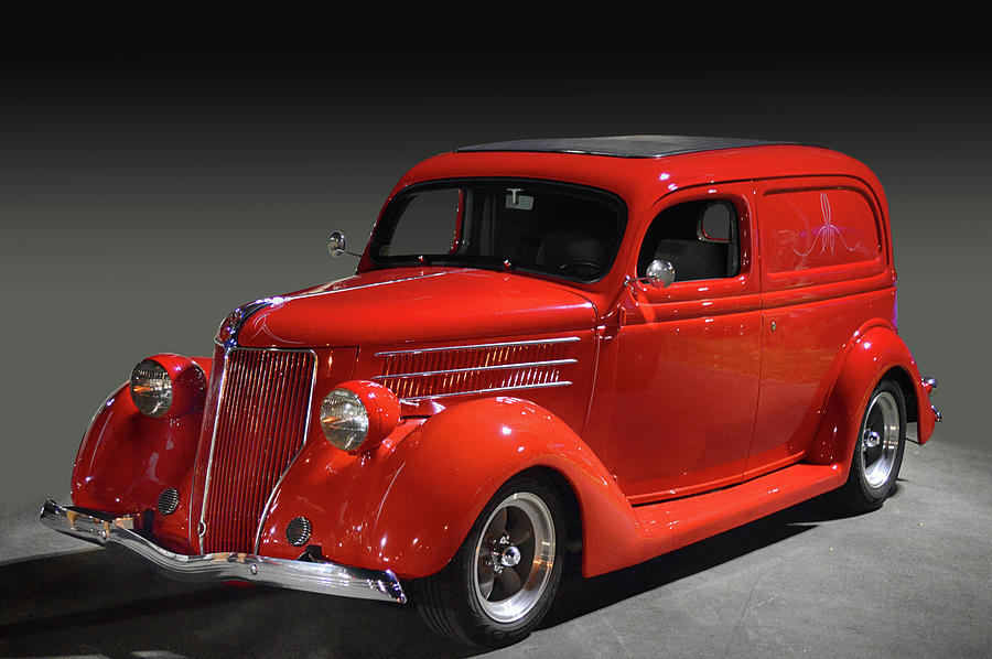 Red Ford Panel by Bill Dutting