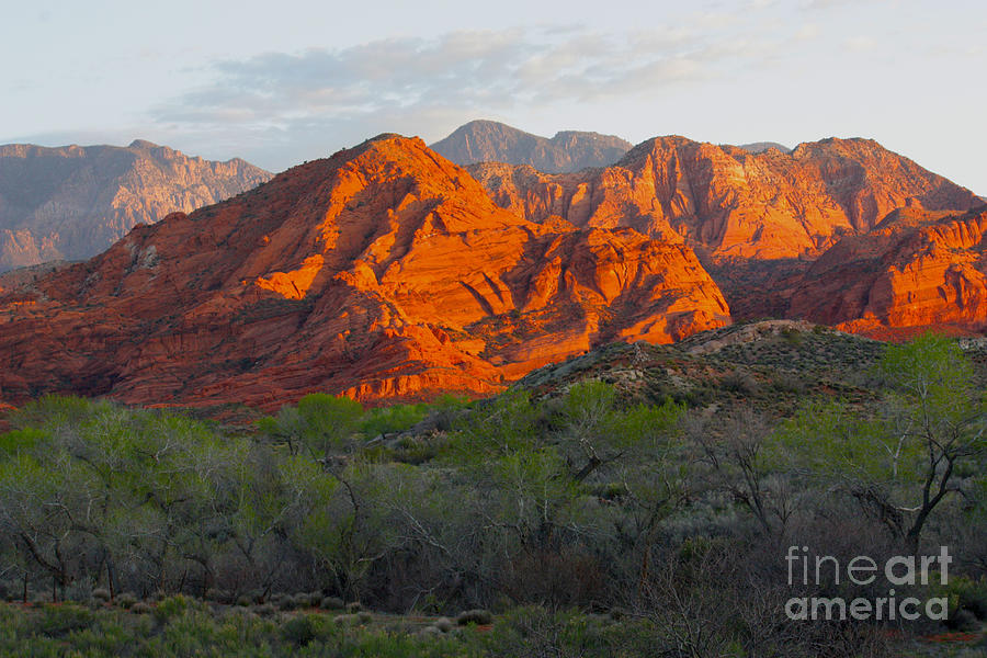 Red Hills by Dennis Galloway