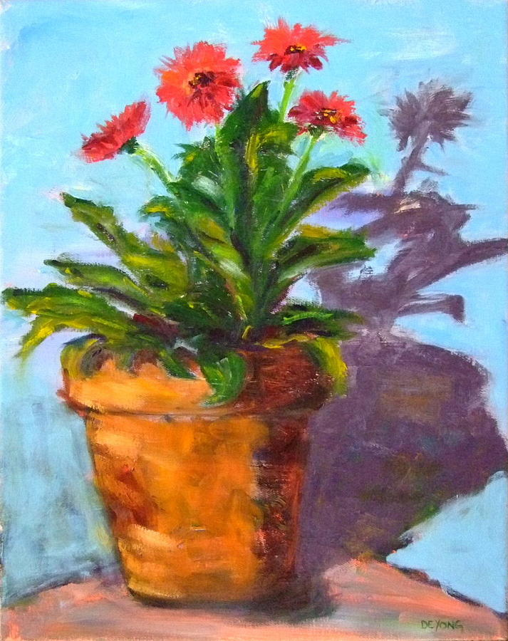 Hot Painting - Red Hot by Glynis Berger