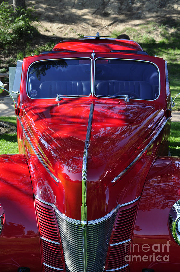 Clay Photograph - Red Hot Rod by Clayton Bruster