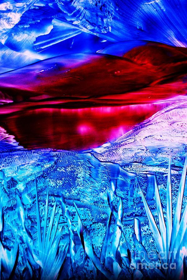 Desert Painting - Red Lake by Melinda Etzold