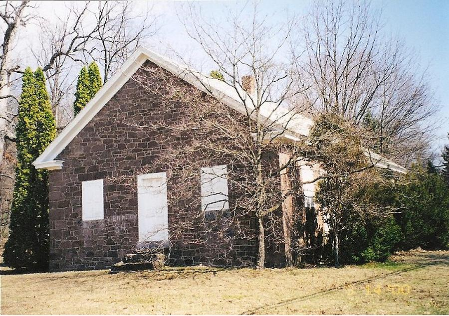 Quaker Meeting House Photograph - Red Land Quaker House by Darlene Prowell