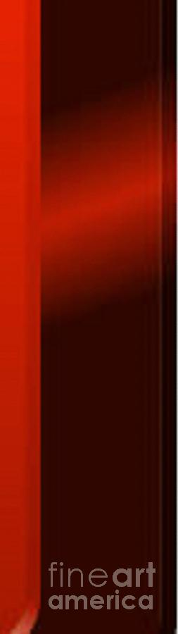 Light Digital Art - Red Light by Archangelus Gallery