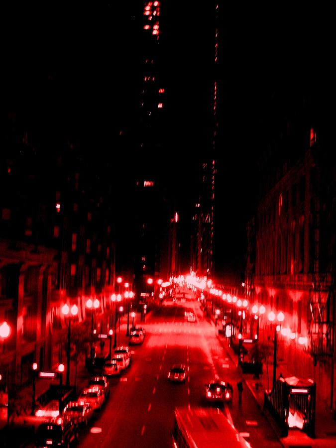 Photograph Photograph - Red Line by Andrea Kimble