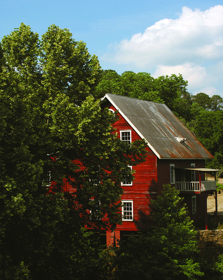 Red Mill  Photograph by Tracy Hayden