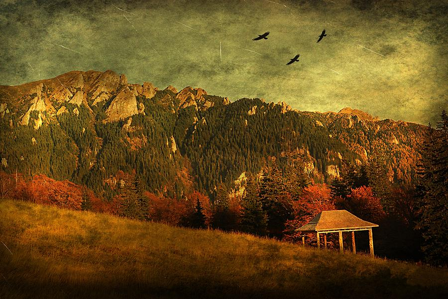 Mountain Photograph - Red Mountain by Endre Fulop