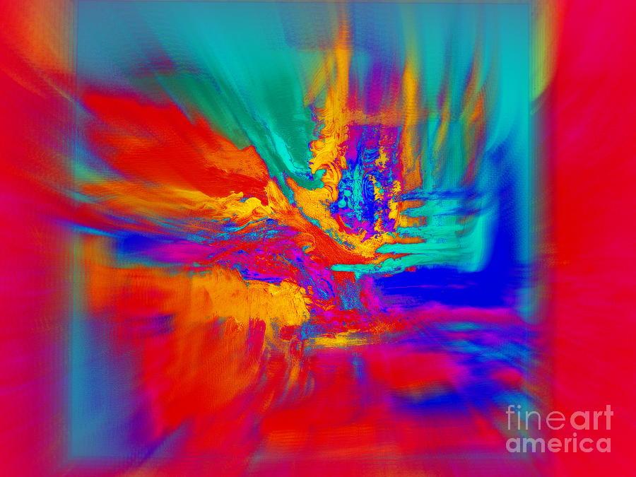 Red Movement by Jodie Marie Anne Richardson Traugott          aka jm-ART