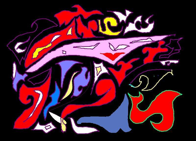 Red Digital Art - Red N Black by Supriti Baghla