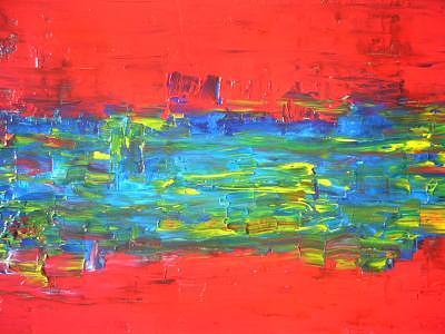 Red October Painting by Eridanus Sellen