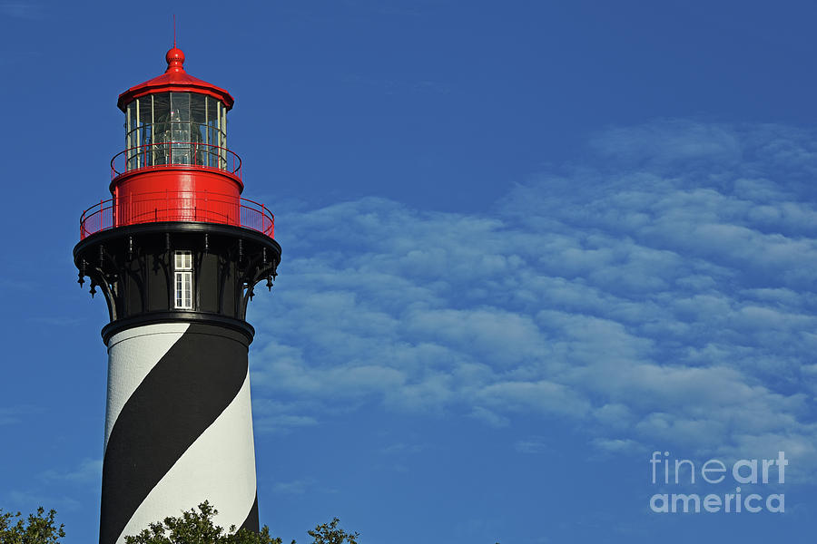 North Florida Photograph - Red On Blue Skies by Rick Bravo
