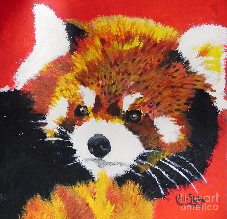 Red Panda by Jolanta Shiloni