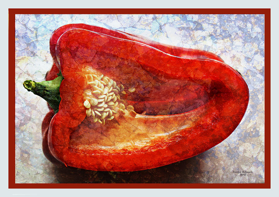 Red Pepper by Joselyn Holcombe