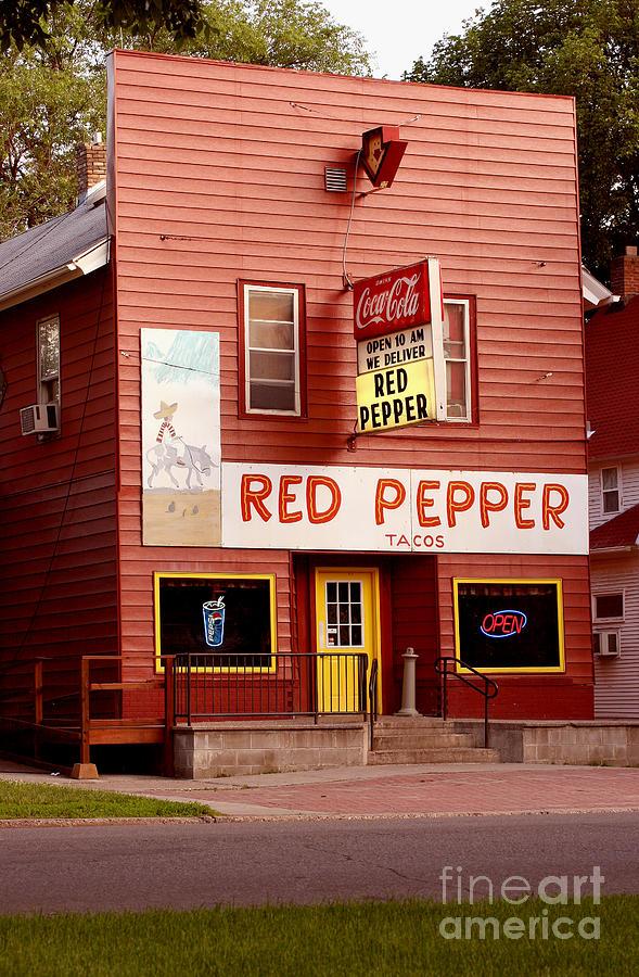 Restaurant Photograph - Red Pepper Restaurant by Steve Augustin