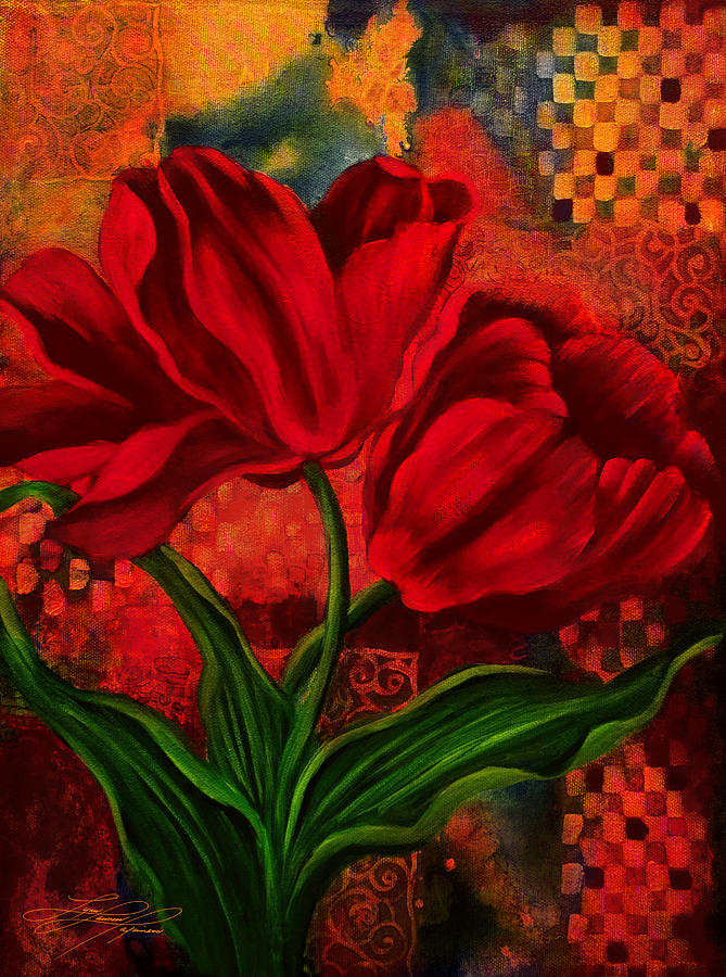 Flower Painting - Red Poppy by Lynn Lawson Pajunen