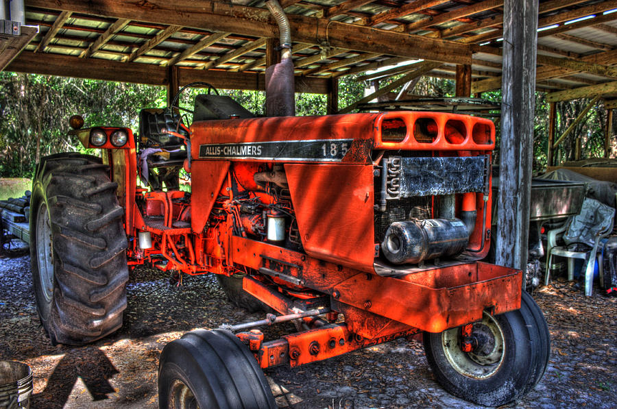 Farming Photograph - Red Rider by Joetta West