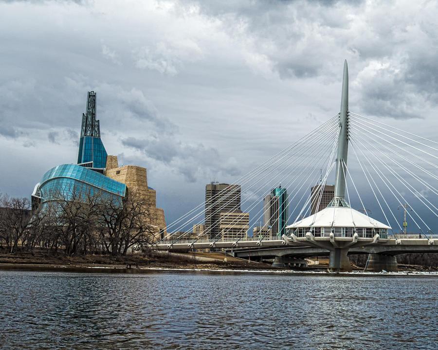 Red River At Winnipeg Photograph