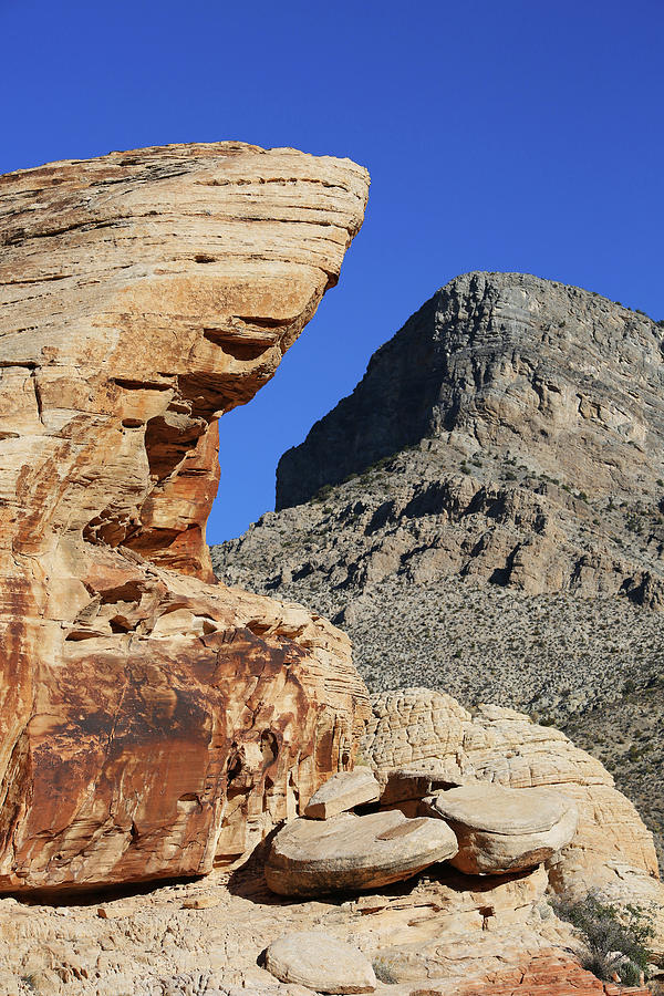 Red Rock Canyon Photograph - Red Rock Canyon Nv 2 by Chris Brannen
