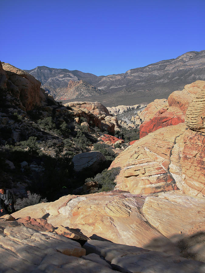 Red Rock Canyon Photograph - Red Rock Canyon Nv 7 by Chris Brannen