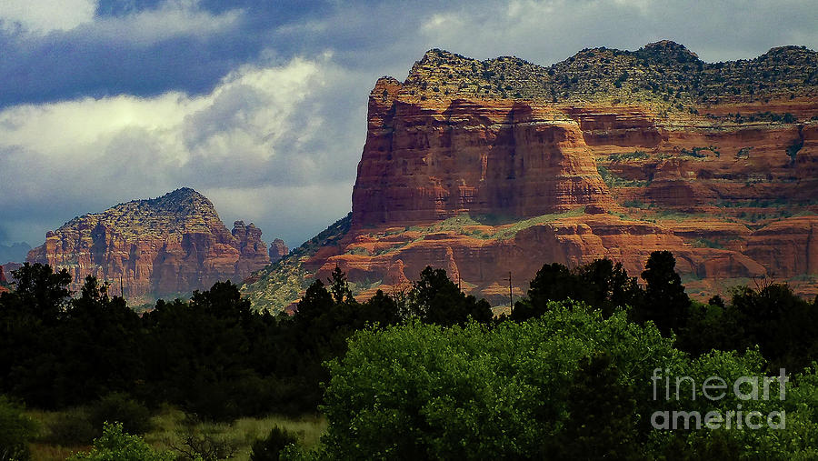 Red Rock Country, Sedona by Chandra Nyleen