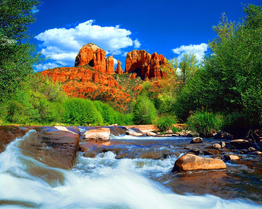 Sedona Photograph - Red Rock Crossing by Frank Houck